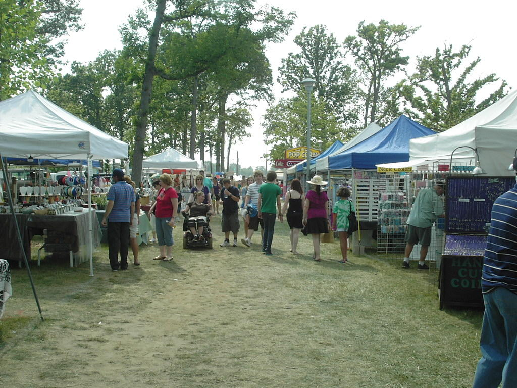 The Clawson Park Craft Show